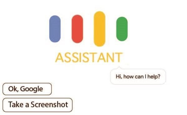 how to take a screenshot Google Assistant