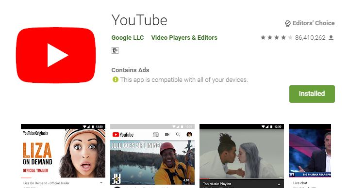 Install the YouTube App on Samsung Smart TV