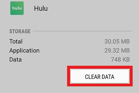 Clear Cache Of Hulu on Roku