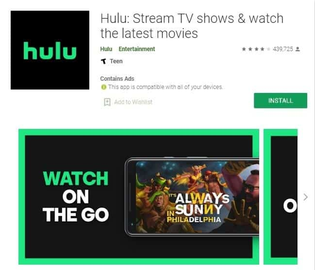 how to install Hulu on LG smart tv
