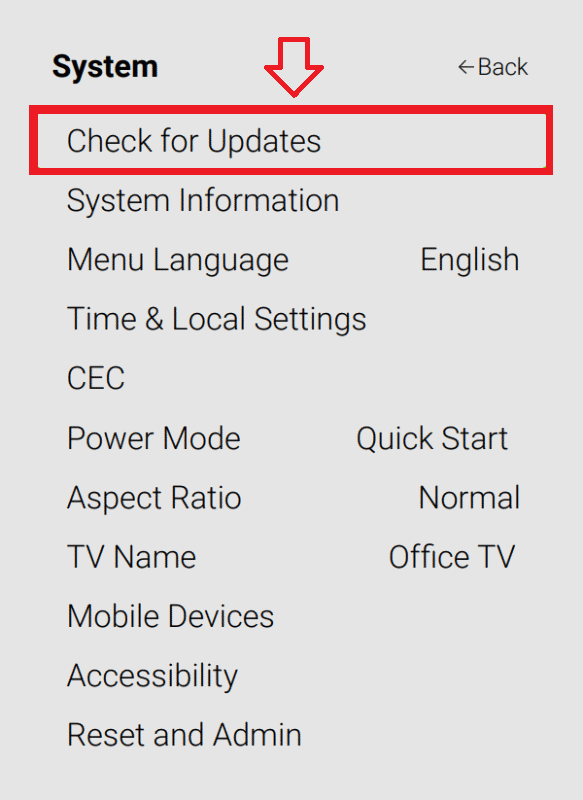 How to Update Vizio TV Firmware